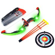 Set Of 6pcs Kids Archery Playset With Light Effect