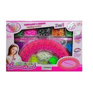 Twist n Loop Colorful Loomband Jewelry Maker Kit With Stand - Small