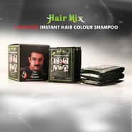 Hair Mix 5 Minutes Instant Hair Colour Shampoo