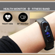 Health Monitor + Fitness Band