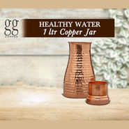 Healthy Water 1 Ltr Copper Jar