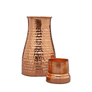 Hammered Copper Jar - 1 Ltr