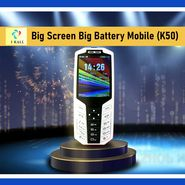 I Kall Big Screen Big Battery Mobile (K50)