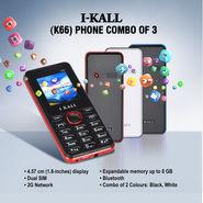 I Kall K66 Phone Combo of 3