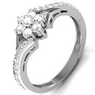 Avsar Real Gold & Swarovski Stone Vashi Ring_I051wb
