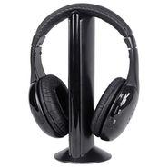 Intex 5 In 1 Computer Multimedia Headphone Wireless Roaming (Black)