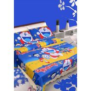 IWS Kids Cotton Printed Double Bedsheet with 2 Pillow cover IWS-CB-22