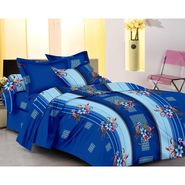 IWS Designer Cotton Printed Double Bedsheet with 2 Pillow cover- IWS-CB-58