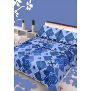IWS Designer Cotton Printed Double Bedsheet with 2 Pillow cover- IWS-CB-87