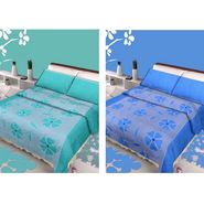 IWS Set of 2 Designer Double Cotton Bedsheet with 4 Pillow cover IWS-CCB-07