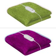 Set of 2 Warmland Electric Single Bed AC Blanket-Pink & Green-IWS-EB-03_04