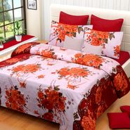IWS Printed  Double Bedsheet with 2 Pillow Covers-IWS-NPrinted-05