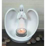 Importwala white Angel Candle jolder 1403-1003