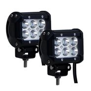 AutoSun 6 LED Fog Light Set Of 2 Royal Enfield (Continental GT)