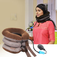 Inflatable Cervical Neck Pillow Support