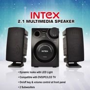 Intex 2.1 Multimedia Speakers