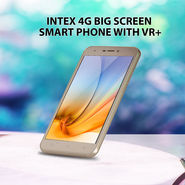 Intex 4G Big Screen Smartphone with VR+