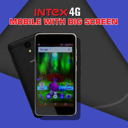 Intex 4G Mobile with Big Screen