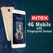 Intex 4G Mobile with Fingerprint Sensor