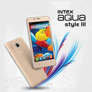 Intex Big Screen 4G Mobile With 16GB Storage (Style III)