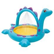 Intex Dino Spray Pool Kids Toddler Inflatable Swimming Kiddie Wading N Splash