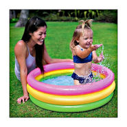 Intex Sunset Glow Baby Swimming Pool - 3 ft