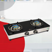 Irich 2 Burner Glass Cooktop - New