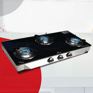 Irich 3 Burner Glass Cooktop - New