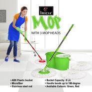 Irich Mop + 3 Microfiber Mop Heads