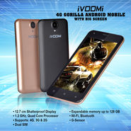 Ivoomi 4G Gorilla Android Mobile with Big Screen