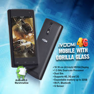 Ivoomi 4G Mobile with Gorilla Glass