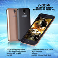 Ivoomi Shatter Proof Big Screen 4G Phone (V6)