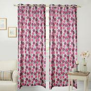 JBG Home Store Set of 2 Beautiful Design Door Curtains-JBG935_1WBLD