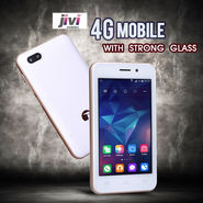 Jivi 4G Mobile with Strong Glass