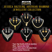 Jessica Dazzling Austrian Diamond Jewellery Collection