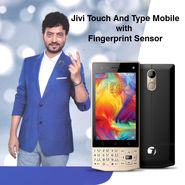 Jivi Touch And Type Mobile With Fingerprint Sensor