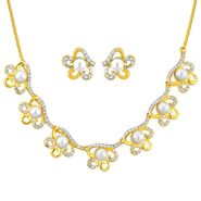 Jpearls Sitara Pearl Fashion Necklace Set - NE10796