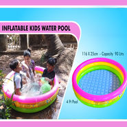 Inflatable Kids Water Pool - 3 Feet