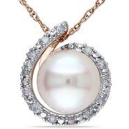 Kiara Swarovski Signity Sterling Silver Jyoti Pendant_Kip0478