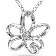 Kiara Swarovski Signity Sterling Silver Prdanya Pendant_Kip0479