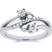 Kiara Swarovski Signity Sterling Silver Apurva Ring_Kir0705 - Silver