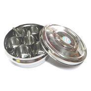 Stainless Steel Masala Dabba / Spice Box