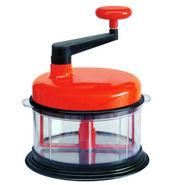 New Useful Chop-N-Churn Food Processor - Red & Black