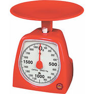 Kitchen Weighing Scale (2Kg) -Must in Your Kitchen - Red