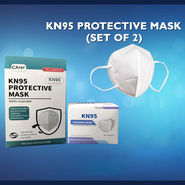 Set of 2 KN95 Protective Mask