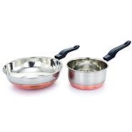Klassic Vimal Cookware set of Sauce pan and Fry pan KV103
