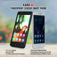 Kara 4G Fingerprint Sensor Smart Phone