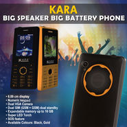 Kara Big Speaker Big Battery Phone