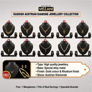 Kashish Austrian Diamond Jewellery Collection