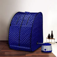 Kawachi Portable Steam Sauna Bath - Blue